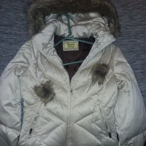 Maralyn & Me Coat with faux fur